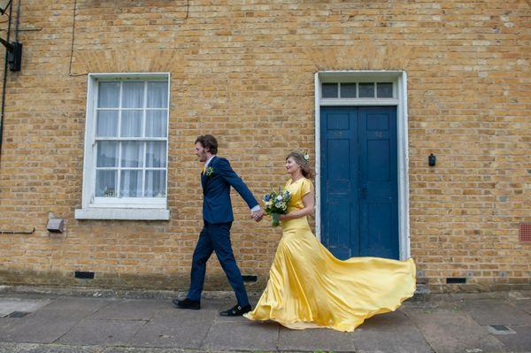"""<i>Dress by <a href=""""http://belleandbunty.co.uk/"""" target=""""_blank"""">Belle & Bunty</a></i>"""