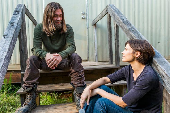 Jesus talks ... to Maggie.
