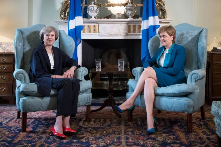 Sturgeon has come head-to-head with British Prime Minister Theresa May, who is strongly opposed to another Scottish referendu