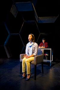Grace Ng and Elissa Beth Stebbins in a scene from <strong><em>You For Me For You</em></strong>