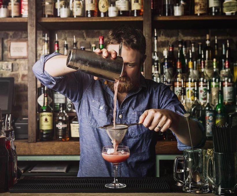 The Botanical Bartender, Mike Di Tota at The Bonnie, Astoria