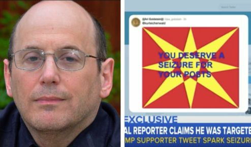 Newsweek political reporter Kurt Eichenwald has written about his epilepsy.