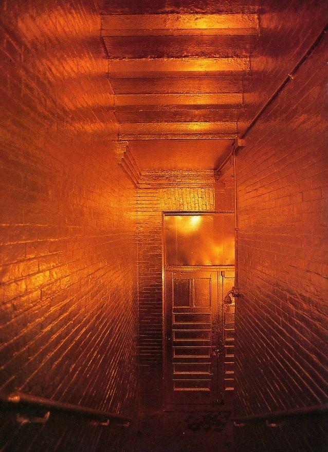 Zadik Zadikian's Gold Space at PS1 (1975)