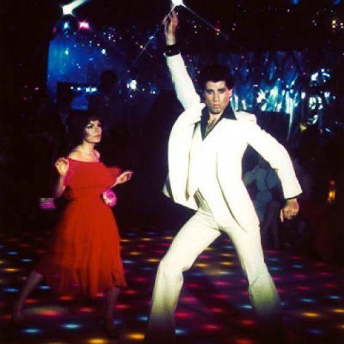 "John Travolta in <em>Saturday Night Fever, Paramount Pictures </em>release    <a rel=""nofollow"" href=""https://www.blog.teddys"
