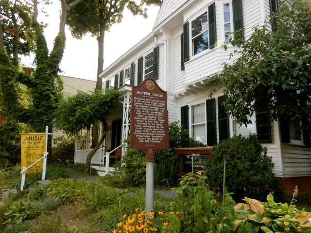 Edward Hopper boyhood home, Nyack NY