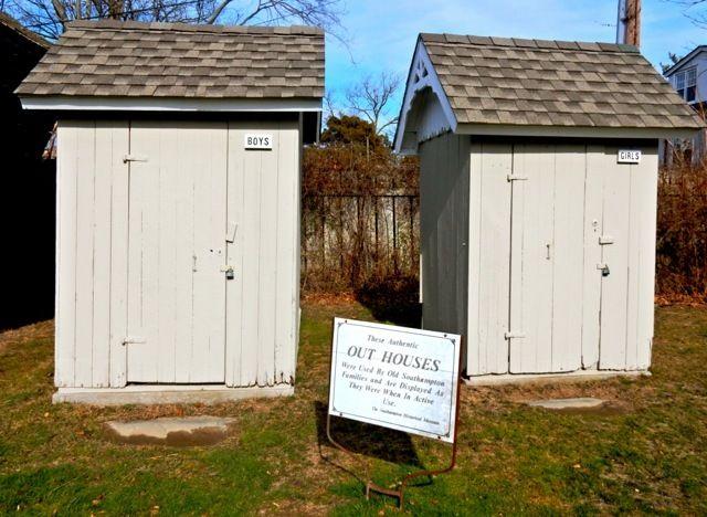 Outhouses, Southampton NY Historical Society