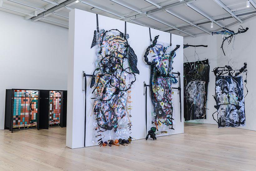 Installation view of KAYA, SERENE, 2017. Whitney Biennial 2017, Whitney Museum of American Art, New York, March 13-June 11, 2