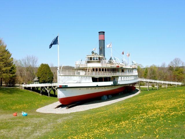 Shelburne Museum, Ticonderoga Steamship, VT