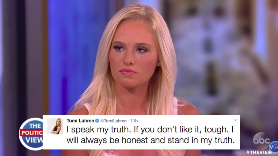 Tomi Lahren Forced To Defend Herself After Admitting Shes Pro Choice Huffpost
