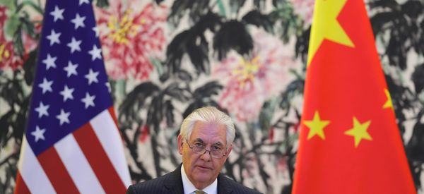 Tillerson: Trump Looking For 'Greater Understanding' With China