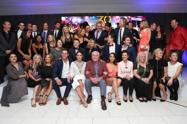 The 'Neighbours' cast in