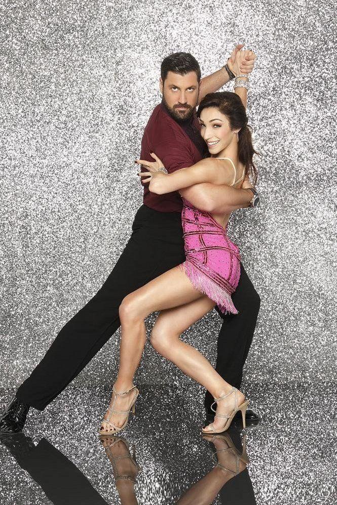 "Maksim Chmerkovskiy and Meryl Davis, Dancing with the Stars   <a rel=""nofollow"" href=""https://www.mlive.com/"" target=""_blank"""