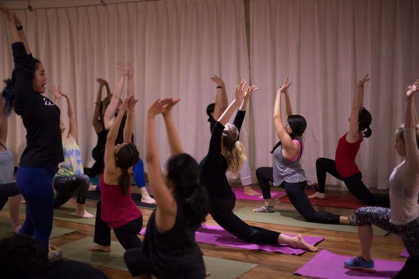 "Laura Toyofuku-Aki, Core Yoga instructor, BellaVita, at The Olivia, Stonehenge <a rel=""nofollow"" href=""https://www.stonehenge"