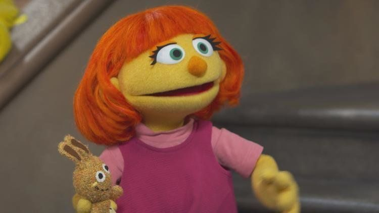 Sesame Street's Newest Neighbour Is Julia, A Muppet With