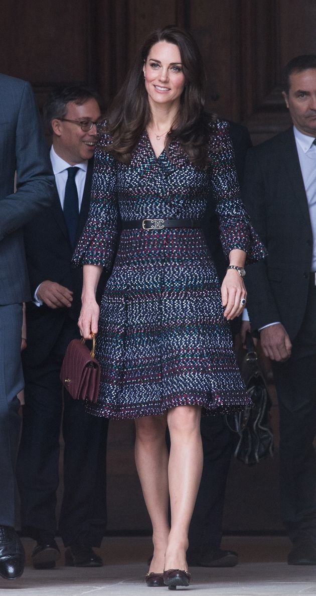 The Duchess of Cambridge visits the Invalides on 18 March 2017 in Paris,