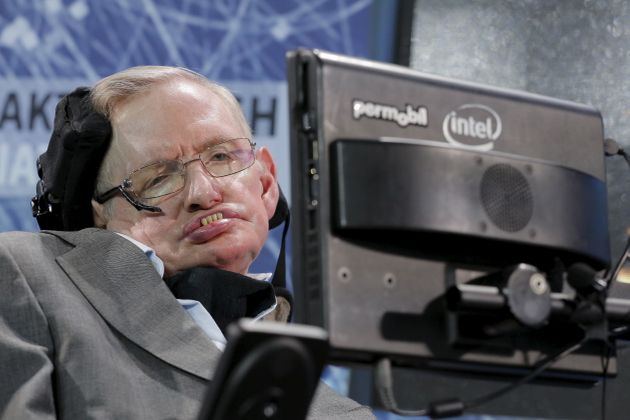 Stephen Hawking Will Fly Into Space On Richard Branson's Virgin Galactic