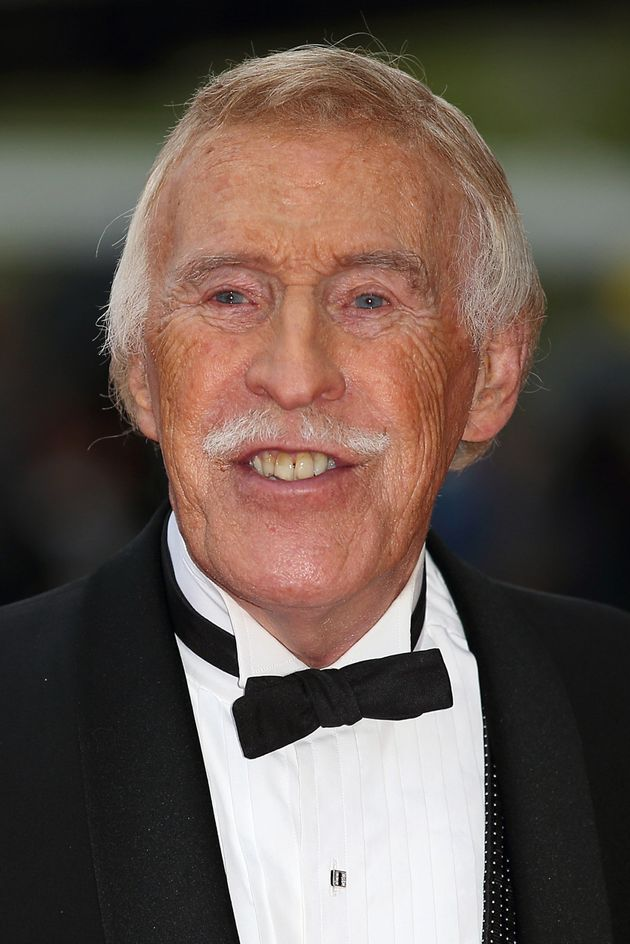 Sir Bruce at the TV Baftas in