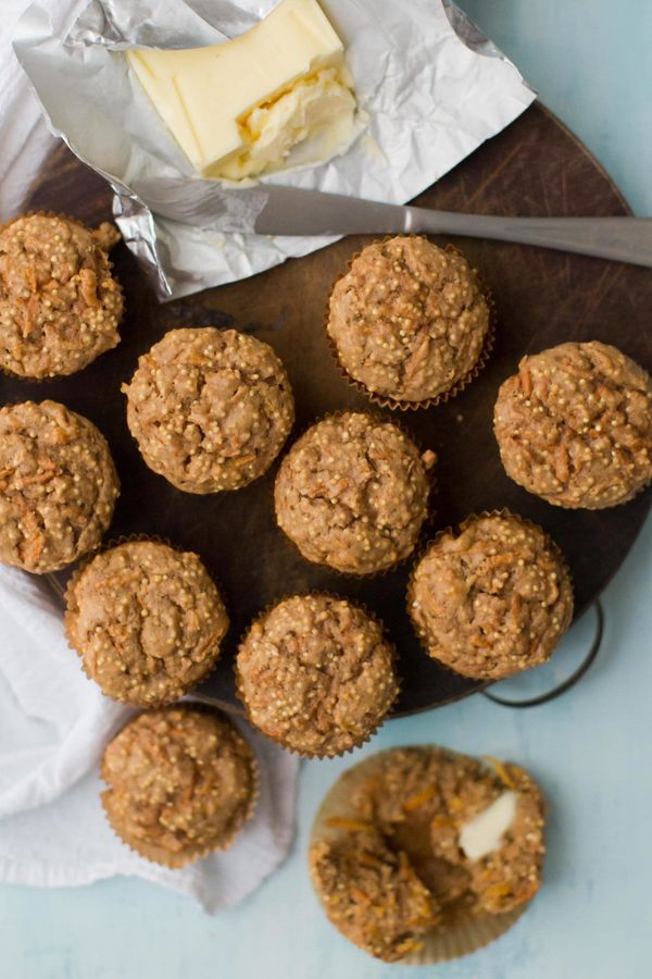 "<strong>Get the <a href=""https://naturallyella.com/spiced-carrot-millet-muffins/"" target=""_blank"">Spiced Carrot Millet Muffin"