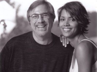 Lawrence Grobel and Halle Berry
