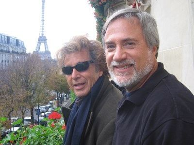 Al Pacino and Lawrence Grobel
