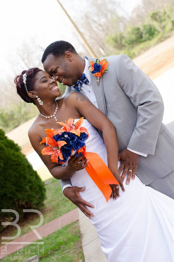 """""""Renee Mack andWayne Murray were married at New Day Baptist Church in Spartanburg, South Carolina on March 18. They rec"""