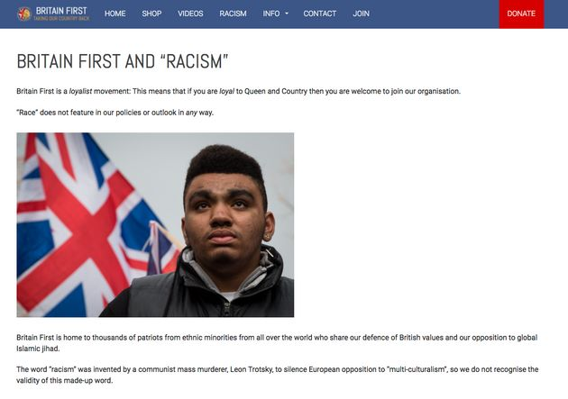 Britain's First website has a page dedicated to