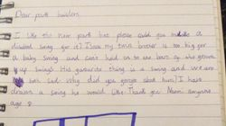 8-Year-Old Writes Letter To Council Asking Why There Are No Swings For Her Disabled