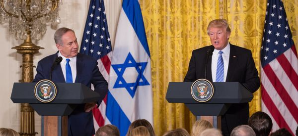 Trump's Israeli-Palestinian Deal Will Present A Challenge For Netanyahu