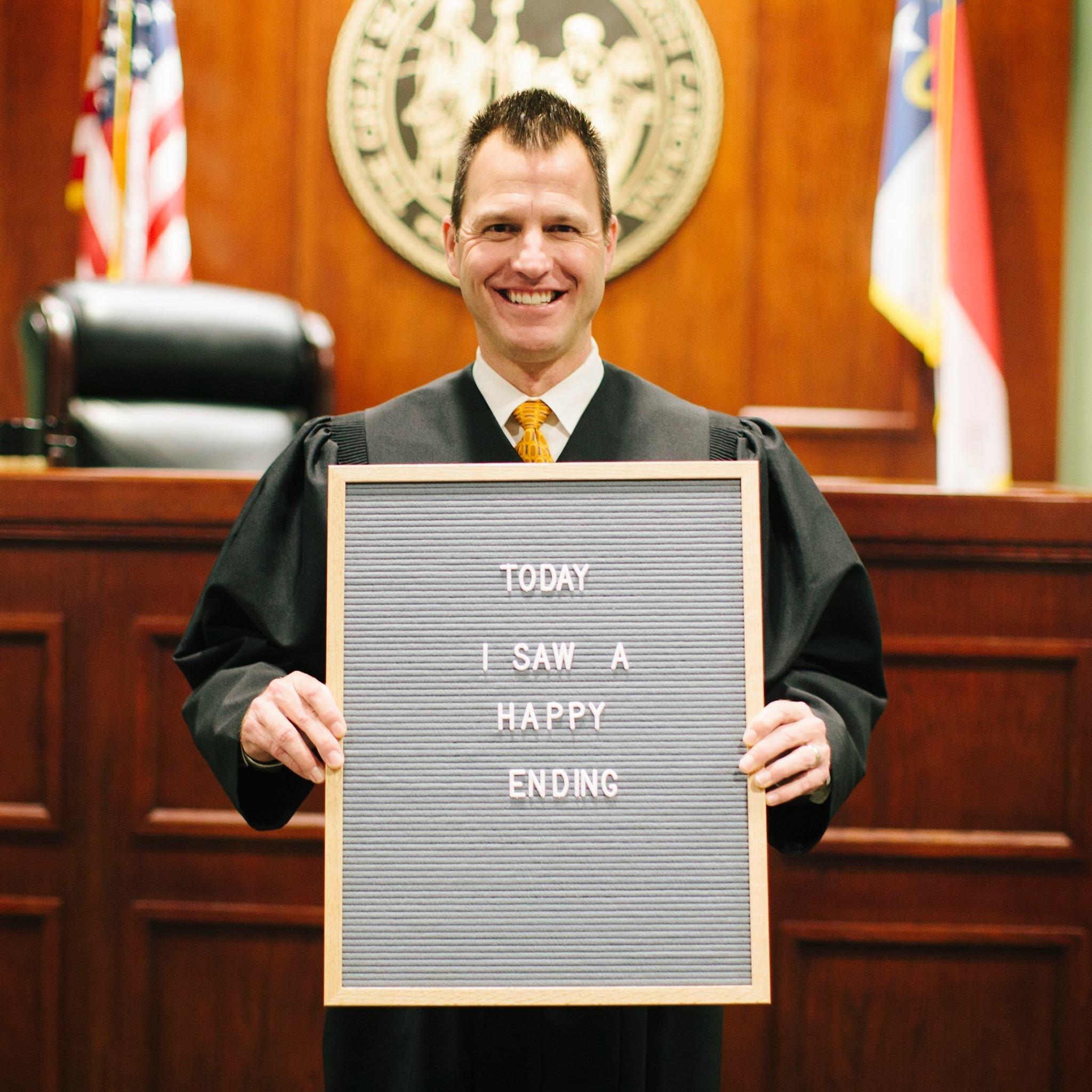 The judge, Jason Disbrow