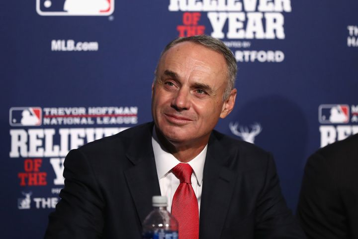 MLB Commissioner Rob Manfred.