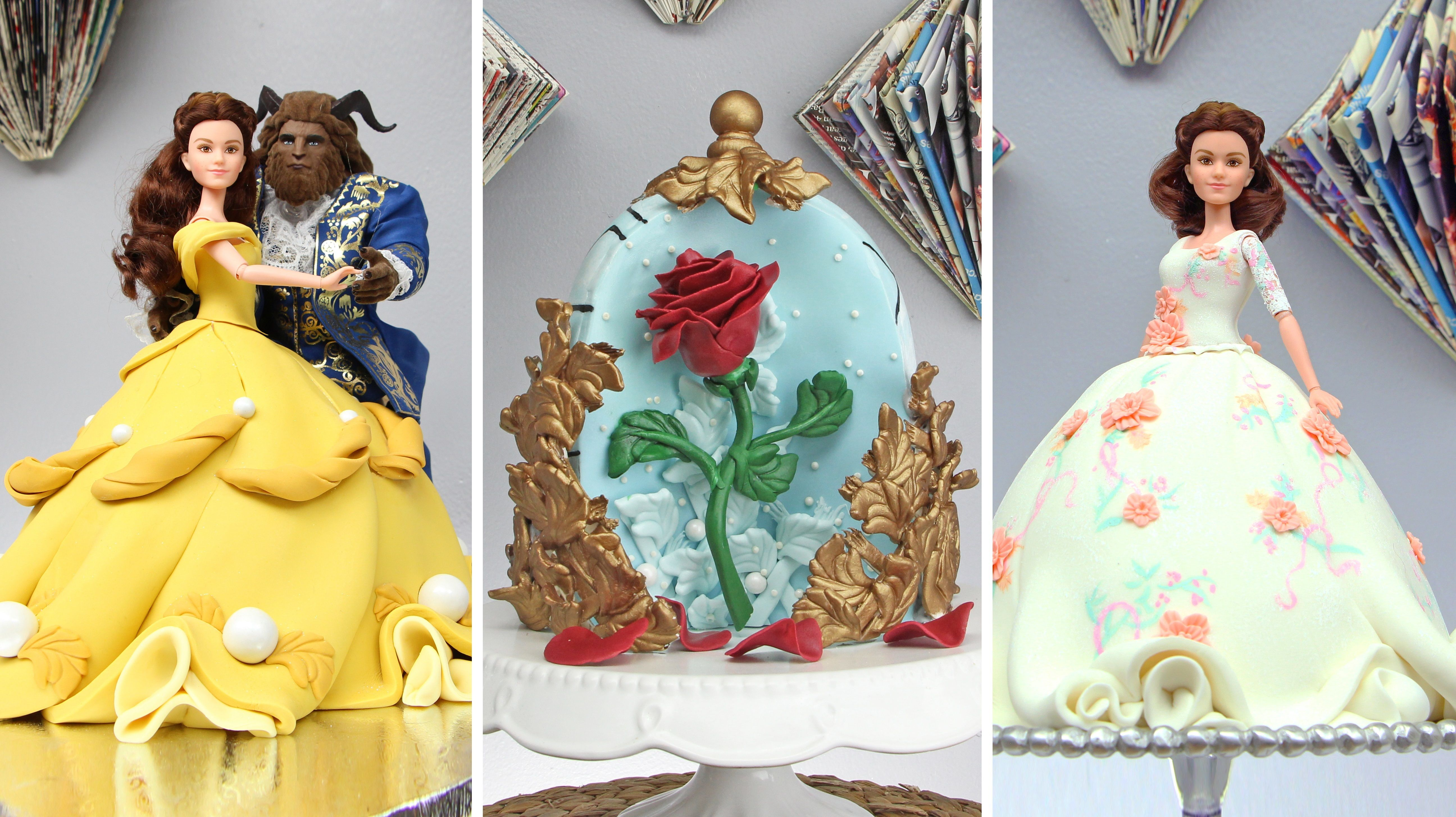 Beauty and the Beast Cake Extravaganza HuffPost