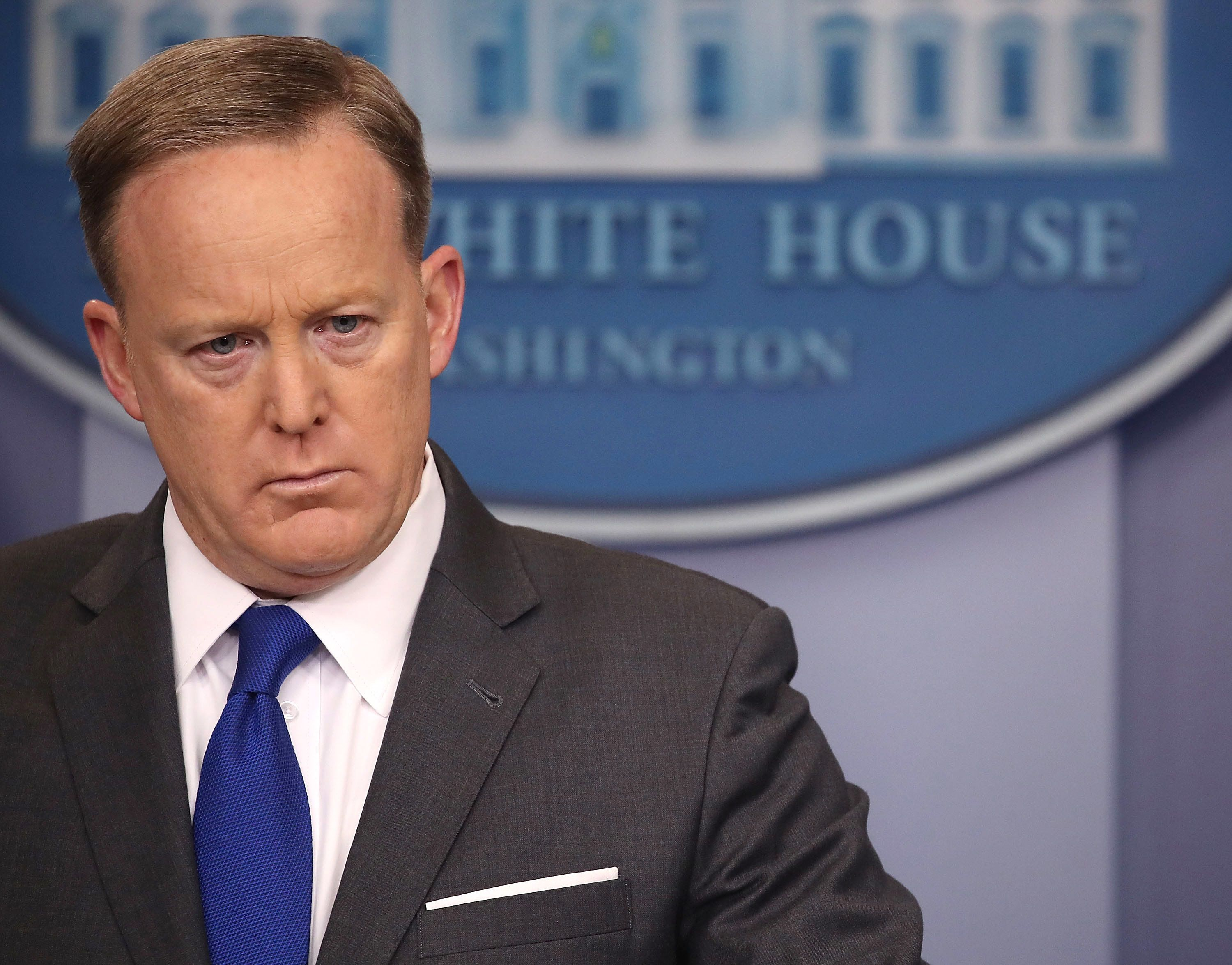 Sean Spicer Has Real-Life 'Melissa McCarthy Moment' In Spat With