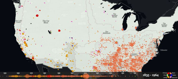This Interactive Map Reveals The History Of Lynching In America ...