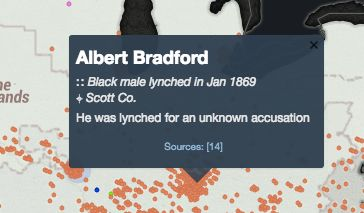 This Interactive Map Reveals The History Of Lynching In America