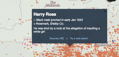 Reasons for lynching often had to do with criminal accusations.