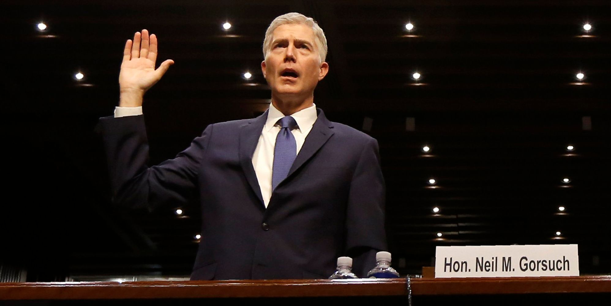 With Democrats On The Offensive, Neil Gorsuch Takes The Stand In The Senate