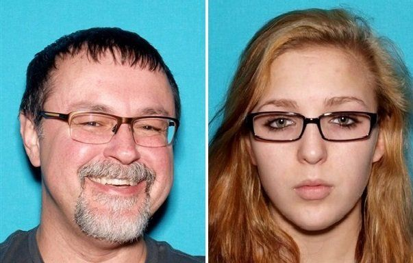 Fifty-year-old Tad Cummins left is accused of abducting 15-year-old Elizabeth Thomas