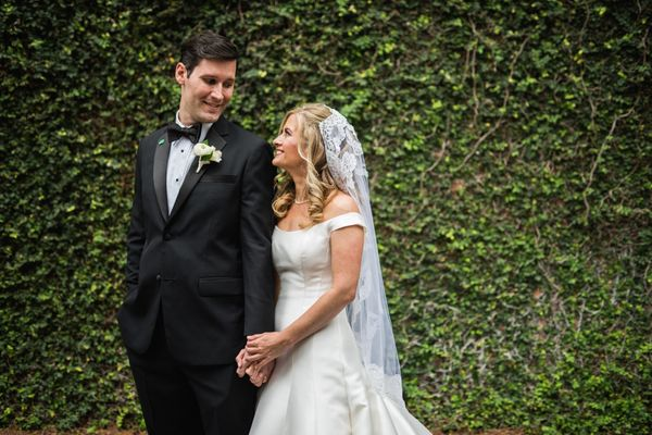 """""""Zachary Howser and Erin Pelleteri married March 11 at St. Mary's Italian Church with a reception at Marche in New Orleans."""""""