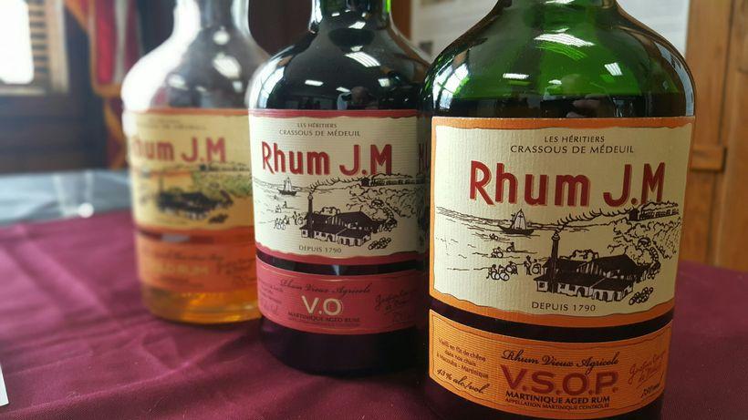Spirit tastings from Rhum J.M