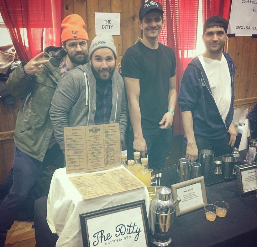 The Ditty, Astoria rocks the NY Cocktail Expo!
