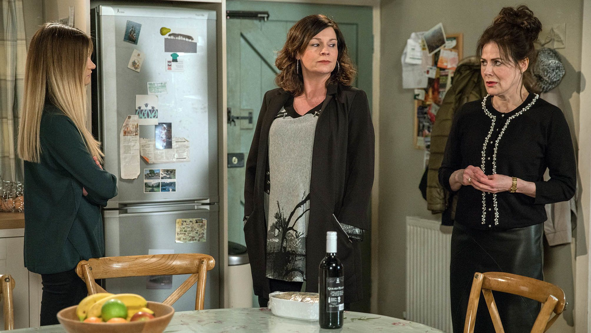 In recent weeks, Chas has been dealing with her mother's