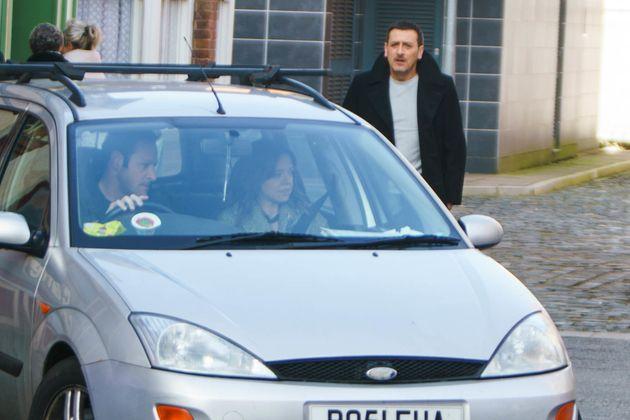 Peter is devastated when he sees Toyah leaving her estranged