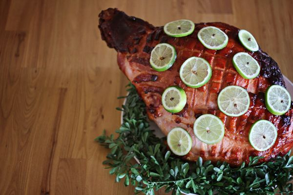 "<strong>Get the <a href=""http://fatmumslim.com.au/christmas-cooking-lime-glazed-ham/"">Lime-Glazed Ham recipe</a> from Fat Mum"