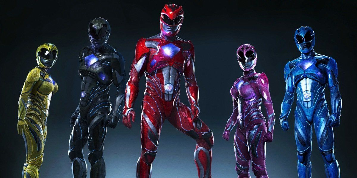 The Power Rangers have been given a makeover for the new