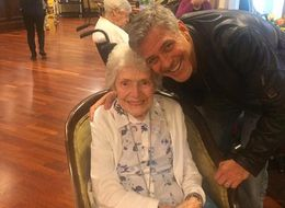 George Clooney Surprising A Woman On Her 87th Birthday Will Bring You A Lot Of Joy