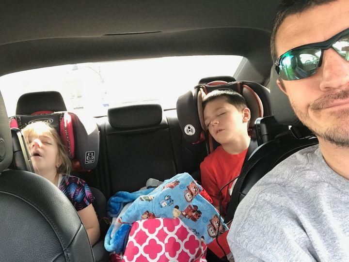 <p>A successful road trip!</p>