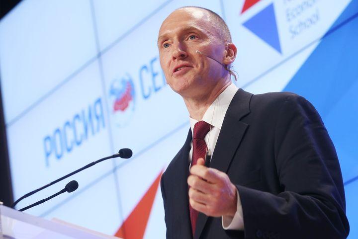 "Carter Page was <a href=""http://www.huffingtonpost.com/entry/trump-campaign-russia-carter-page_us_57e7eb59e4b0e80b1ba299b9"">f"