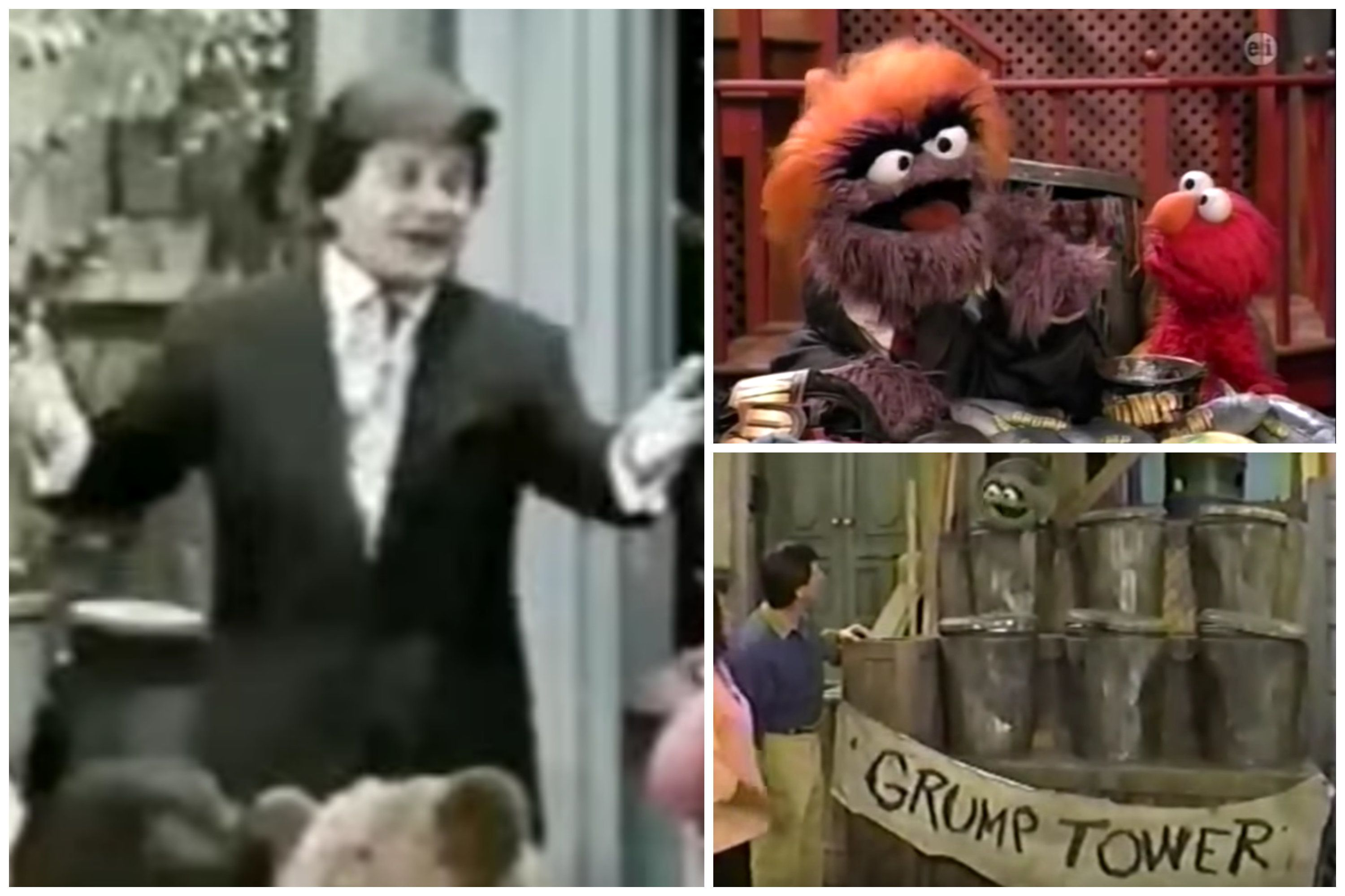 """Sesame Street"" has been painting Donald Trump as the villain for three decades."