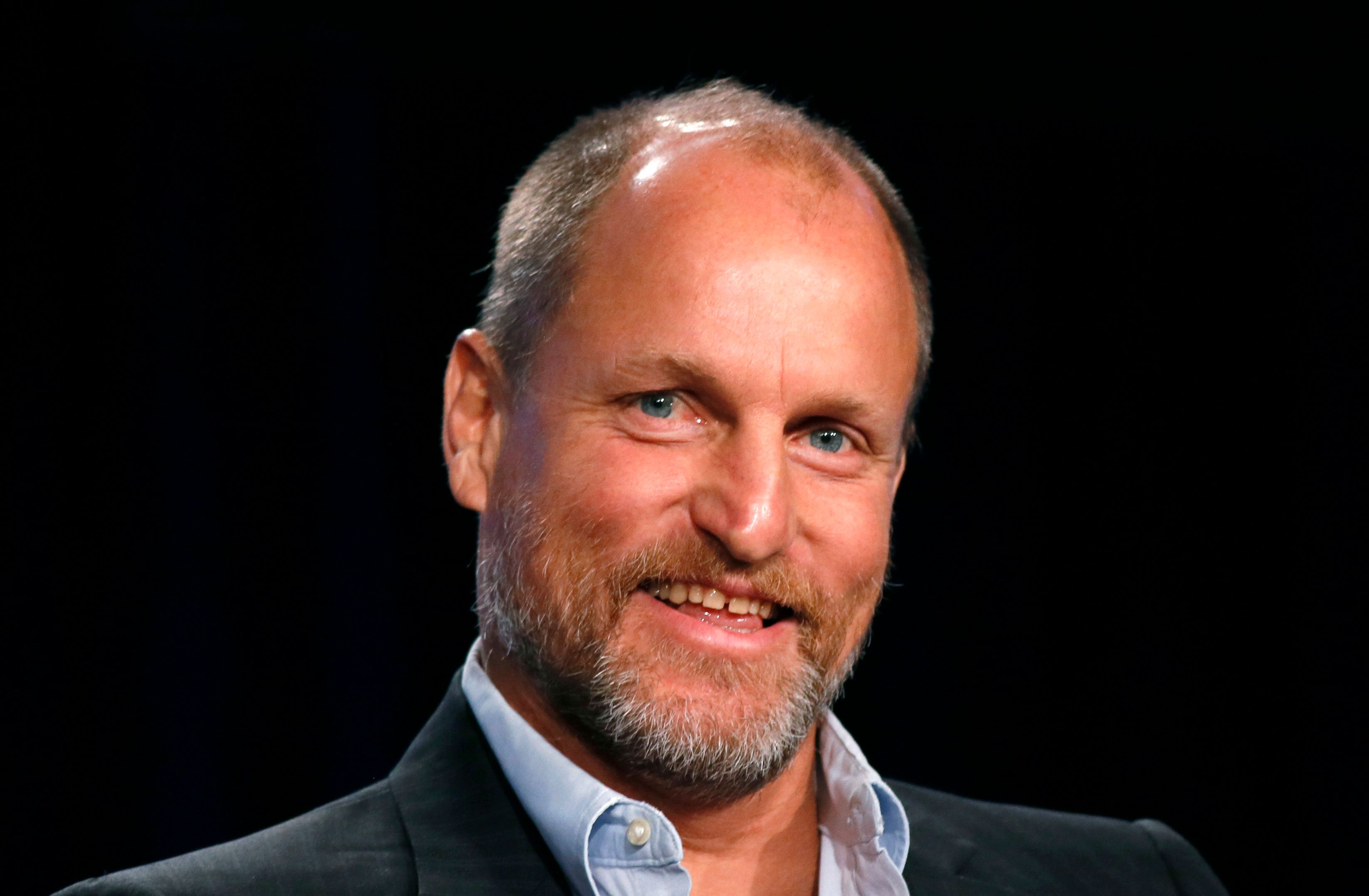 Woody Harrelson might be a party animal, but he hasn't smoke weed in about a year.