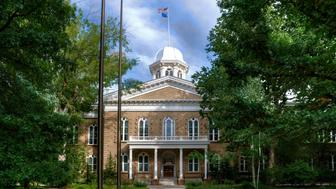 The capitol building of the state of Nevada in Carson City was built in Neoclassical Italianate style and opened in 1871. (Photo by: myLoupe/Universal Images Group via Getty Images)